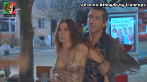 Jessica Athayde sensual na novela Destinos Cruzados