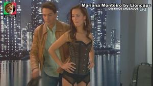 Mariana Monteiro sensual na serie Agua de MAr e na novela Destinos Cruzados