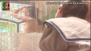 Alessandra Negrini nua na serie Engraçadinha seus amores e seus pecados