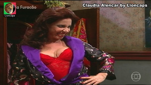 Claudia Alencar nua na serie Hilda Furacão