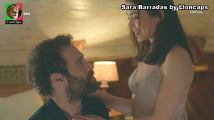 Sara Barradas sensual nas novelas Espirito Indomável e Quero o Destino