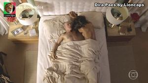 Dira Paes nua na serie Amores Roubados e no filme El Dorado