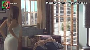 Mariana Monteiro sensual na novela Destinos Cruzados e na serie Água de Mar