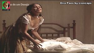 Dira Paes sensual na novela Força de um Desejo