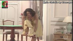 Mylla Christie nua na serie Engraçadinha seus amores e seus pecados