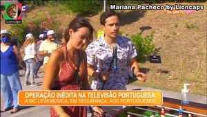 Mariana Pacheco sensual na festa de Verão da sic