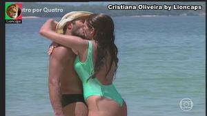 Cristiana Oliveira sensual em vários trabalhos