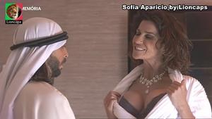 Sofia Aparicio sensual na serie Água de Mar