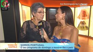 Iva Domingues sensual na Tvi