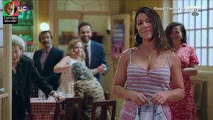 Raquel Tavares sensual na novela Golpe Sorte