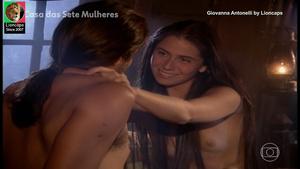 Giovanna Antonelli nua na serie A casa das 7 mulheres