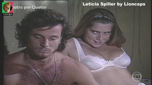 Leticia Spiller sensual nas novelas Kubanacan e Quatro por quatro