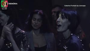 Catarina Furtado sensual em vários trabalhos