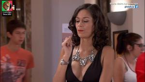 Marta Melro sensual na novela A única Mulher