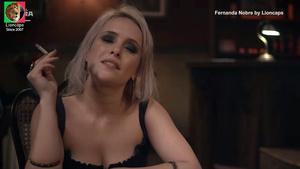Fernanda Nobre nua na serie Copa Hotel