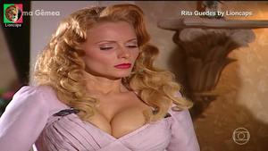 Rita Guedes sensual na novela Alma Gêmea