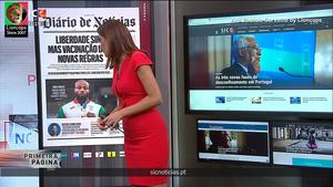 Ana Patricia Carvalho sensual na Sic Noticias