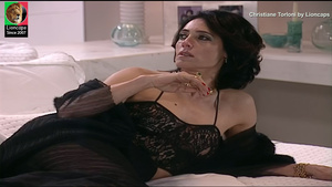 Christiane Torloni sensual na novela Um anjo caiu do céu