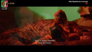 Alba Baptista super sensual no filme Caminhos Magnetykos