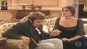 Malu Mader sensual na novela Força de um Desejo