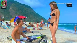 Renata Dominguez sensual na novela Prova de Amor