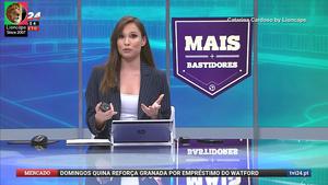 Catarina Cardoso sensual na Tvi