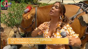 Raquel Tavares sensual na Sic e na novela Golpe Sorte