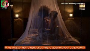 Ana Sofia Martins nua na novela A única mulher