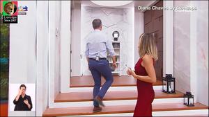 Diana Chaves sensual no programa Casa Feliz