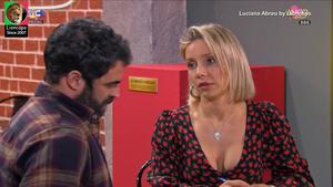 Luciana Abreu sensual na novela Amor Amor