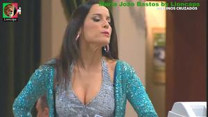 Maria João Bastos super sensual na novela Destinos Cruzados