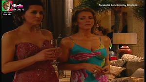 Alexandra Lencastre sensual na novela Ninguem como tu