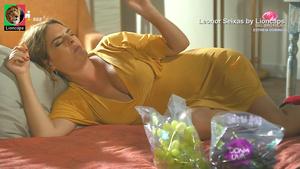 Leonor Seixas super sensual na novela Quer o Destino