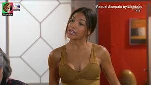 Raquel Sampaio sensual na novela Nazare