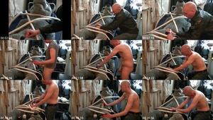 ME13R6FG t - Man Masturbates Male Dog - Male Bestiality Porn