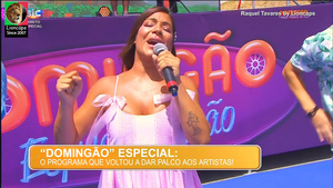 Raquel Tavares sensual na Sic