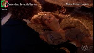 Mariana Ximenes nua na serie A casa das 7 mulheres