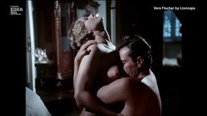 Vera Fischer nua no filme Amor estranho amor