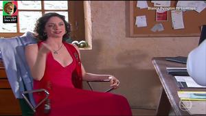 Bianca Byington sensual na novela três irmãs
