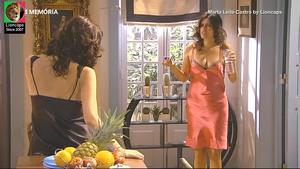 Marta Leite de Castro sensual na serie Voo Directo