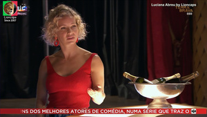 Luciana Abreu sensual nas Novelas Terra Brava e Amor amor
