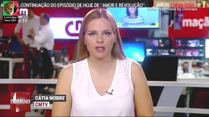 Compilação das belas jornalistas de Portugal