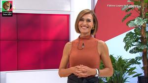 Fátima Lopes sensual na Tvi