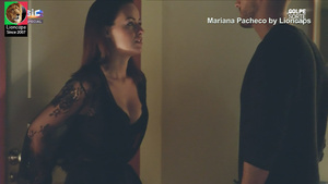 Mariana Pacheco sensual na novela Golpe Sorte