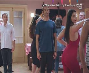 Inês Monteiro super sensual a dançar na novela Golpe de Sorte