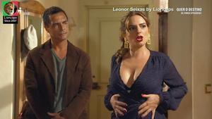 Leonor Seixas sensual na novela Quer o Destino