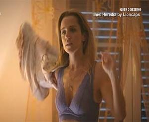 Ines Heredia super sensual na novela Quer o Destino