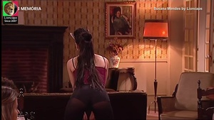 Susana Mendes sensual na serie Hotel 5 estrelas