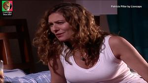 Patricia Pillar sensual na novela Um anjo caiu do céu