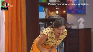 Patricia Tavres sensual na serie Ai a minha vida